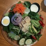 just one of our many salads ;-)