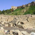 Teatro romano de Mlaga.