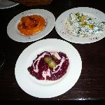  Next table&#39;s chef&#39;s dips, beetroot &amp; yogurt++