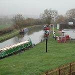 Outside view of The narrow boat