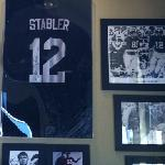 Kenny Stabler's jersey