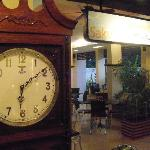  Beautiful clock in lobby