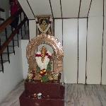Ganapati at reception area