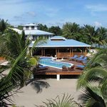Just a small hotel on the beach in Belize.