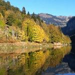 Lake Montriond in the Autumn