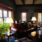 The Great Room on the main house's lower level is available to all guests.