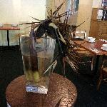  Dried or not ! center-piece in the restaurant