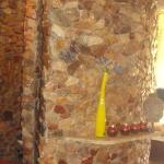  The stone clad shower