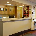 Hotel Registration Desk