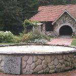  Fountain with bathhouse