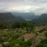 Surrounding area. View onto Blyderivier's Canyon. 2nd Largest Canyon in the world