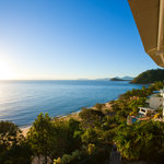 The stunning ocean view from your private balcony
