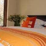 Self catering chalet's king bedroom