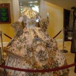 La Posada Laredo Lobby - Geo Washington Birthday celebration dress