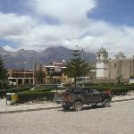 The plaza, Cabanaconde