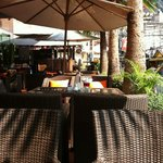 Monsoon restaurant outdoor seating
