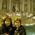 Fontana di Trevi by night