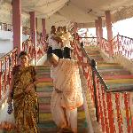 steps to temple