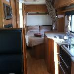  Powered Sites were reasonably priced for the Family Motorhomes RV .... but slabs are quite neces