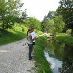 Fishing with paolo in Belluno