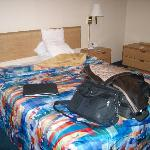  Same bedding as host pic so you know its old
