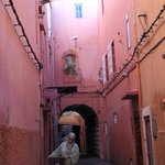  Typical passageway in the Medina