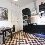 Kitchen Sirach Apartment