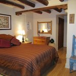 Authentic adobe pueblo style compound in downtown Santa Fe