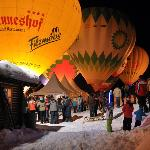  balloon festival in Filzmoos Jan2012