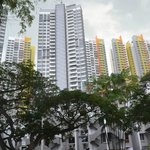 New residential blocks around Tiong Bahru