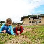Kids dig free at the Prehistoric Indian Village