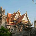 The beautiful Wat Langka temple