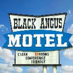  Black Angus Motel Poteau OKSign