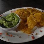  Guac and Plantains were delish!