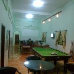 More than a restaurant and hostel with a huge communal entertainment area