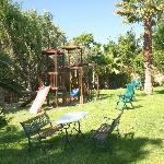 Beautiful communal gardens and play area