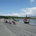 Boating on Blessington lake
