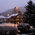Talley Ho Inn in the snow. December, 2011