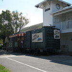 The Boxcar and old train depot-- on the Orange Belt Railway now the Pinellas Trail