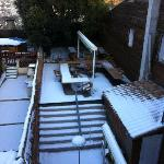 Rear garden from room