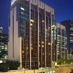 Amara Singapore Facade at Night