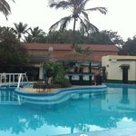 african village hotel pool