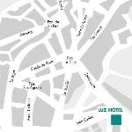  location of hotel luz