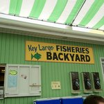 Key Largo Fisheries Backyard: Take Away Cafe