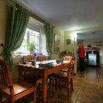 Cottage's Dining-room and Kitchen