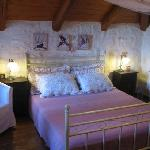 romantic bedroom in alegriavillas with fantastic sea view from the balkonies. Very near the sea