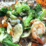 chicken&shrimp brocoli :)