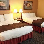Traveling alone or with a friend, enjoy a 2 Queen bed room