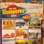  Stumpovka hotel leaflet