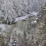 Blackwater Falls in winter's majesty